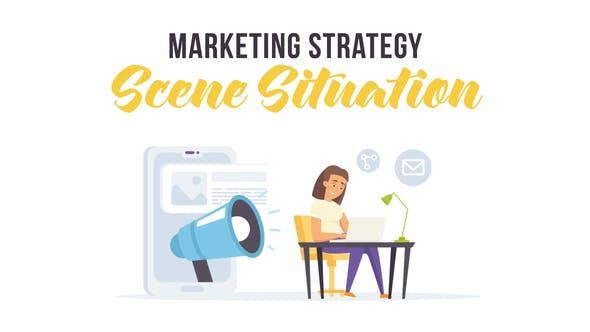 Thumbnail for Stratégie marketing - Situation de la scène