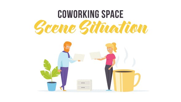 Thumbnail for Coworking space - Scene Situation