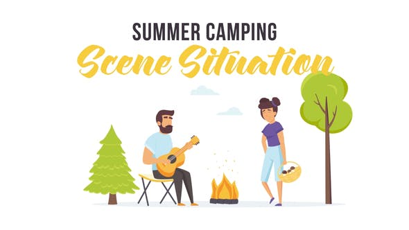 Thumbnail for Summer camping - Scene Situation