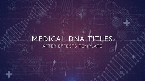 DNA Medical Trailer & Logo