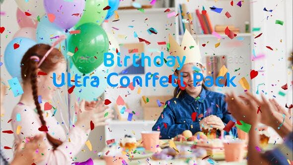 Thumbnail for Happy Birthday Confetti Pack