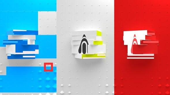 Thumbnail for Revelar el Logo cúbico mínimo
