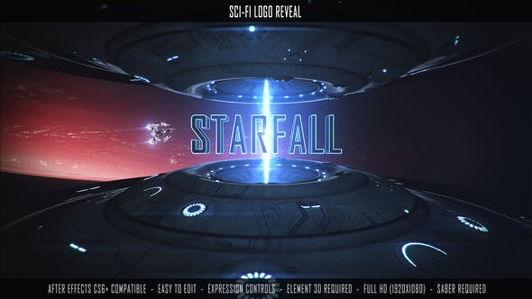 Thumbnail for Sci-Fi Logo Reveal