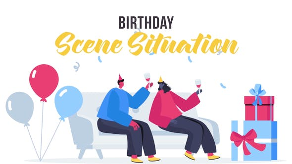 Thumbnail for Birthday - Scene Situation