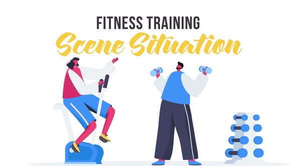 Thumbnail for Fitness training - Scene Situation