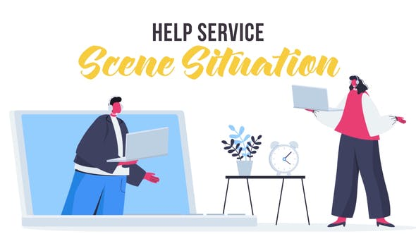 Thumbnail for Help service - Scene Situation