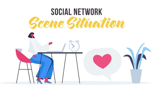 Social network - Scene Situation
