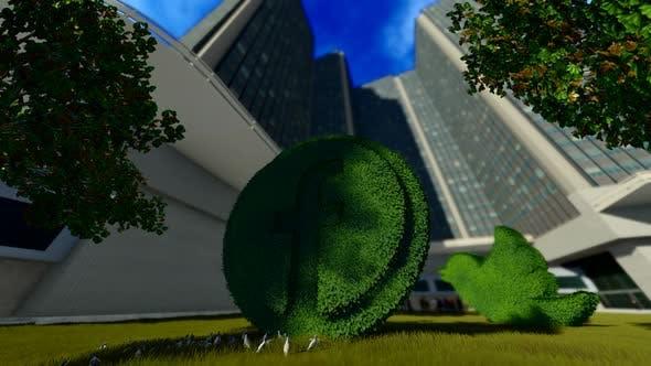 Thumbnail for Facebook Grass Park Logo
