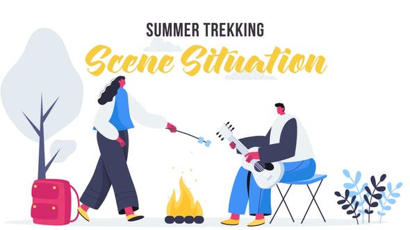 Thumbnail for Summer trekking - Scene Situation