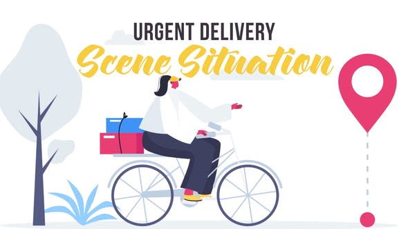 Urgent delivery - Scene Situation