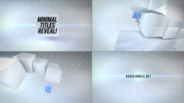 Thumbnail for Clean Cubes Titles Reveal