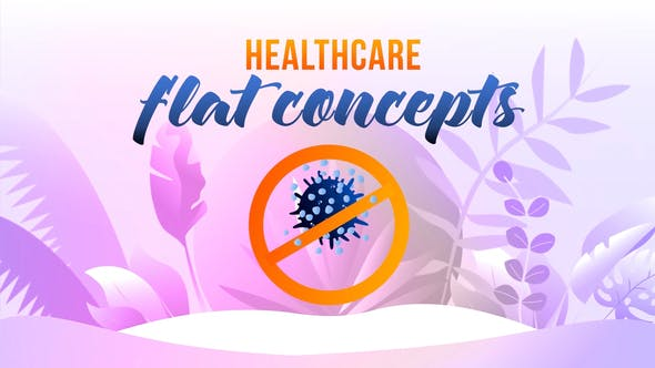 Thumbnail for Healthcare - Flat Concept