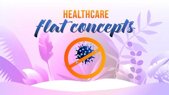 Thumbnail for Cuidado de la salud - Flat Concept