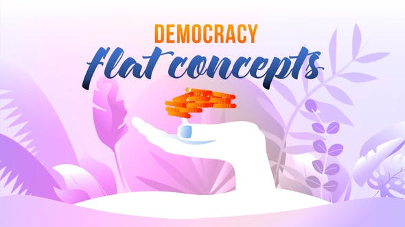 Thumbnail for Democracy - Flat Concept