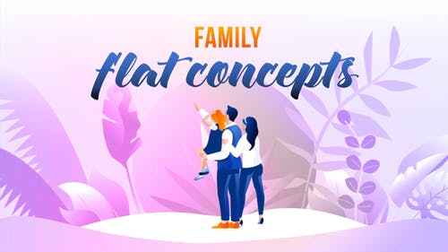 Family - Flat Concept