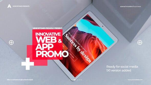 Innovative App & Web Promo
