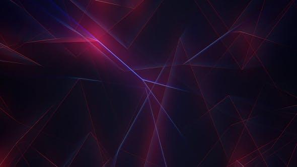 Glowing Lines Background Loop