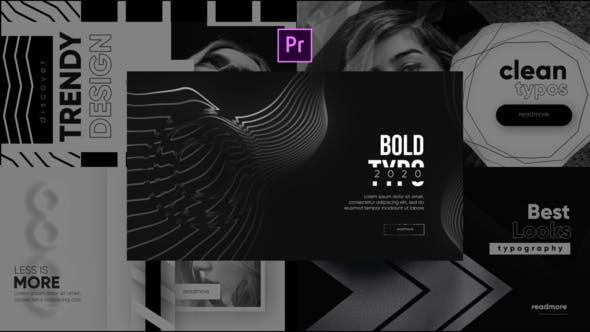 Thumbnail for Typographie à la mode monochrome