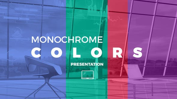 Thumbnail for Monochrome Colors Presentation