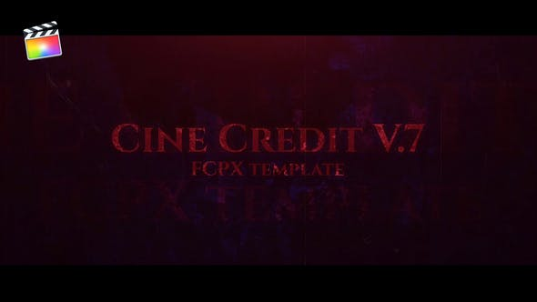 Thumbnail for Cine Credit V.7