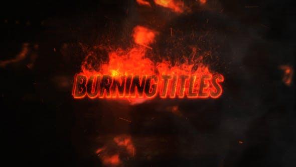 Thumbnail for Exploding Burning Titles