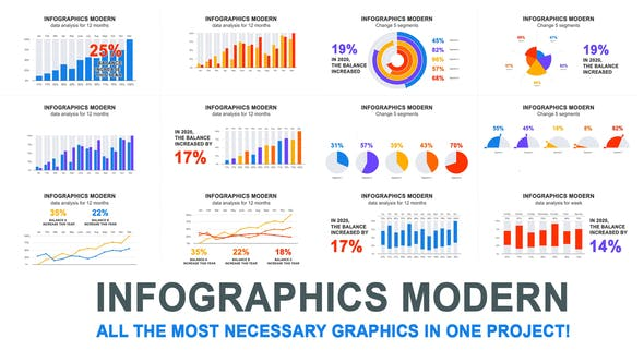 Thumbnail for Infographies modernes
