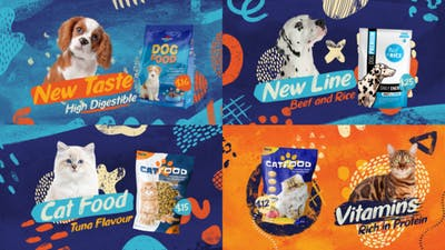 Pet Food Slideshow