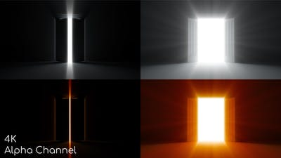 Double Door Opening Shine 4K