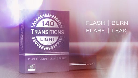 Thumbnail for 140 Real Light Transitions - HD