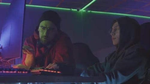 Two Programmers Talking