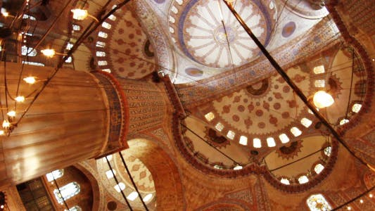 Thumbnail for Istanbul Blue Mosque Interior