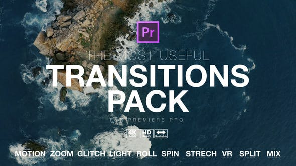 The Most Useful Transitions Pack for Premiere Pro