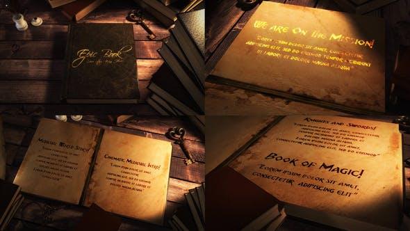 Epic Book Titles