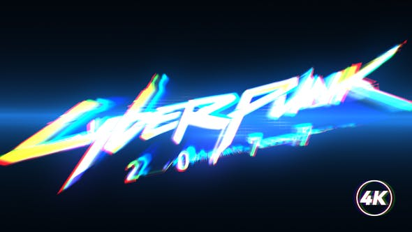 Thumbnail for Fast Glitch Logo Intro
