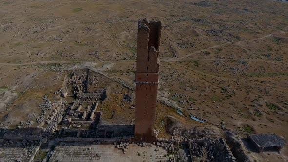 Archeology Historical City Drone