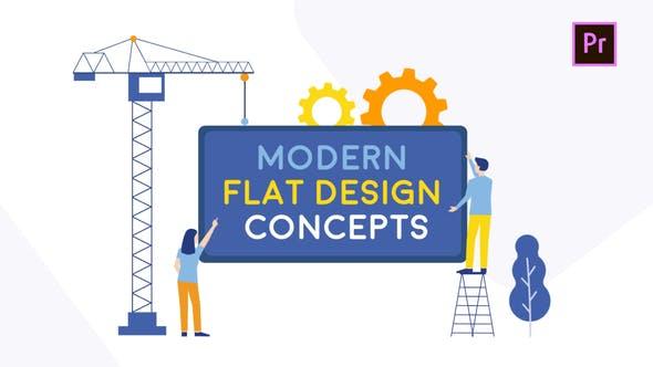 Design plat moderne