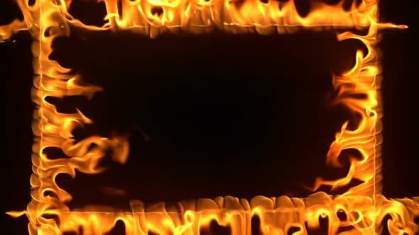 Thumbnail for Burning Fire Frame Slow Motion