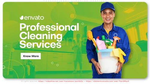 Professional Cleaning Services Promo