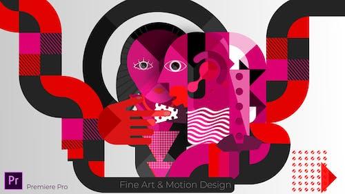 Fine Art & Motion Design Opener