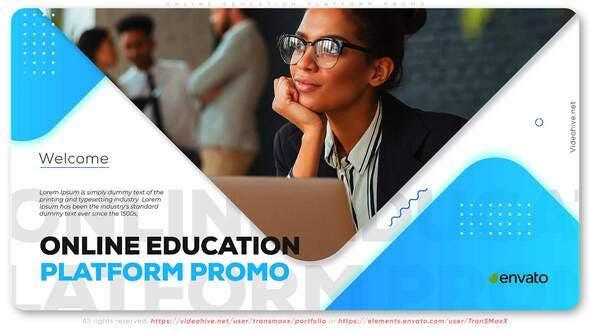 Thumbnail for Online Education Platform Promo