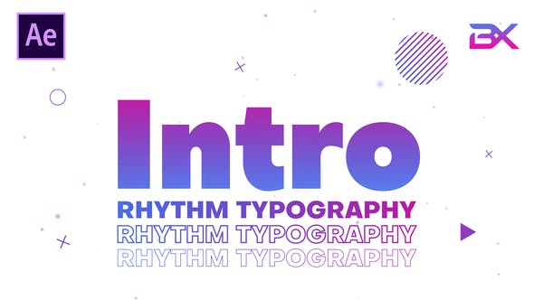 Thumbnail for Rhythm Typography Intro