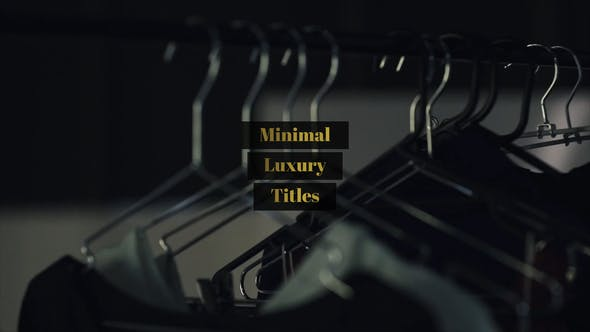 Thumbnail for Minimal Luxury Titles