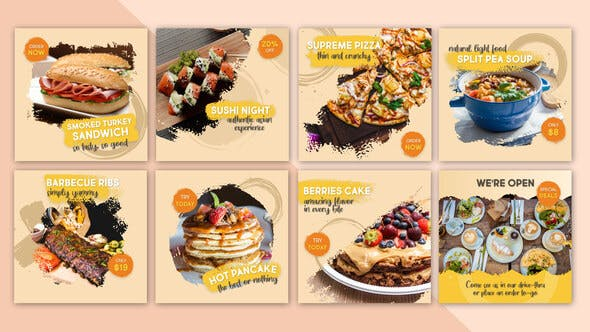 Thumbnail for Food Social Post V14