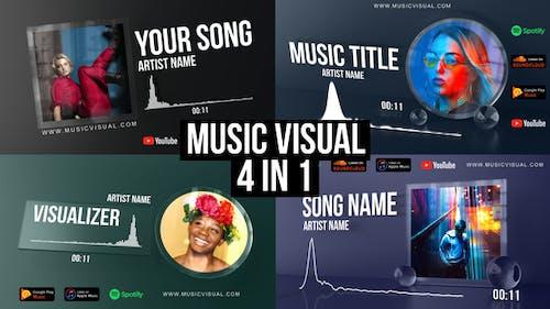 Glass Audio React Music Visualizer