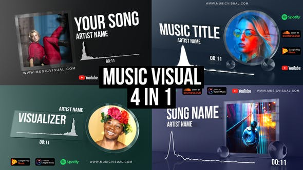 Thumbnail for Glass Audio React Music Visualizer