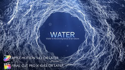 Water - Inspirational Titles - Apple Motion