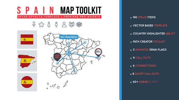 Thumbnail for Spain Map Toolkit