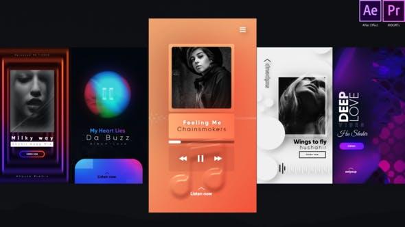 Thumbnail for Instagram Trendy Music Stories