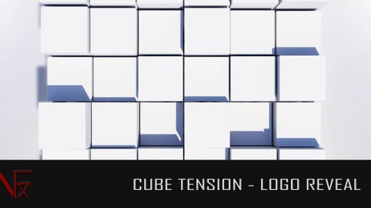 Cube Tension Logo Reveal