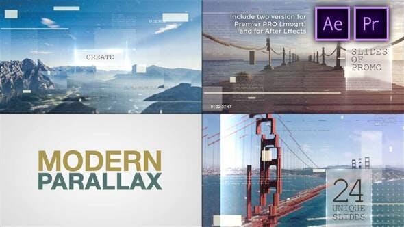Thumbnail for Presentación de diapositivas de paralaje Moderno